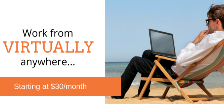 Work Virtually Anywhere with Virtual Office Space