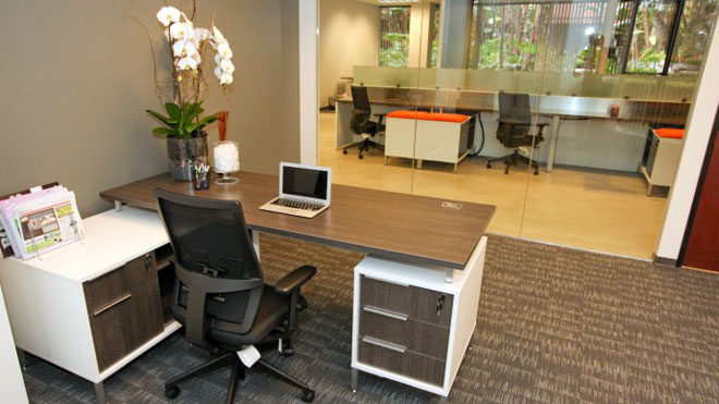 Should you buy or lease office space for your small for Office design ideas for business office