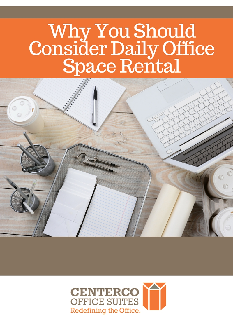 consider daily office space rental
